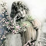 Qualitäts Servietten Vintage Photo Kinder Träume 20 x 3-lagig 33x33cm