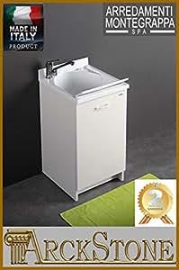 Montegrappa Edilla Meuble avec bac à laver Blanc 45 x 50 cm