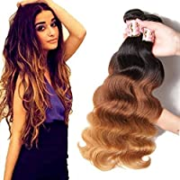 B&F Hair Brazilian Ombre Virgin Hair Body Wave Hair Weave