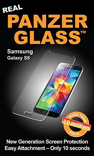 Image of PanzerGlass Displayschutzglas (Anti-Fingerprint); passend für Samsung Galaxy S5/S5 Neo, Klar