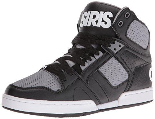 Osiris NYC 83 Salut Top Skate Shoe - Noir / Gris Noir
