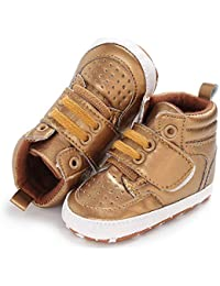 Sabe Baby Girls Boys Soft Leather Sole Booties First Prams Crib Shoes Toddler Slip-on Sneaker