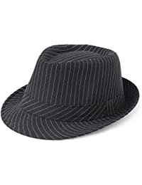 Coucoland Fedora Hats for Men Panama Summer Beach Sun Jazz Cap Linen Panama  Hat Trilby Holiday a533296690a7