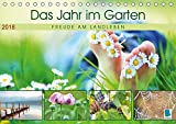 Das Jahr im Garten: Freude am Landleben (Tischkalender 2018 DIN A5 quer): Der Garten: Ein Ort zum Wohlfühlen (Monatskalender, 14 Seiten ) (CALVENDO Orte) [Kalender] [Apr 15, 2017] CALVENDO, k.A.