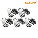 #8: Klaxon Nylon Safety Hand Gloves (Pair 5)