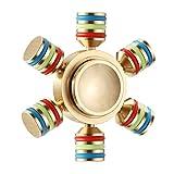 Gyromètre Manuel, Magicfly Tri-Spinner Remue Centrifugeuse Jouet Stress Réducteur...