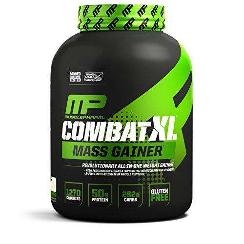 MusclePharm Combat XL Mass Gainer Sport Series (6lbs) Vanilla