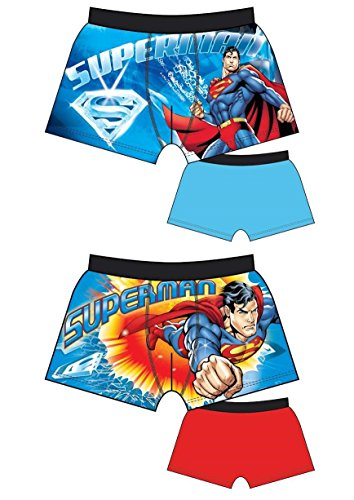 Mens Official Character 2 Pack Cartoon Stretch Briefs Boxers Boxer Shorts Superman Spiderman Star Wars