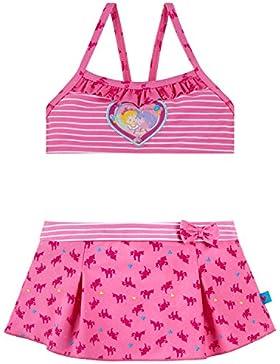 Schiesser Mädchen Badebekleidungsset Prinzessin Lillifee Bustier-Bikini