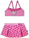 Schiesser Mädchen Badebekleidungsset Prinzessin Lillifee Bustier-Bikini, Rot (Rosé 506), 98 (Herstellergröße: 098)
