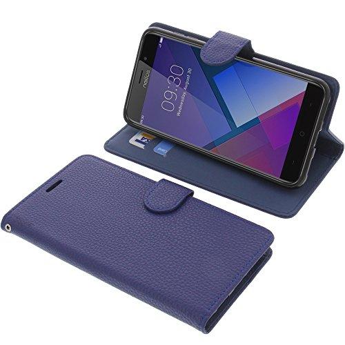 foto-kontor Tasche für TP-Link Neffos C7 Book Style blau Schutz Hülle Buch