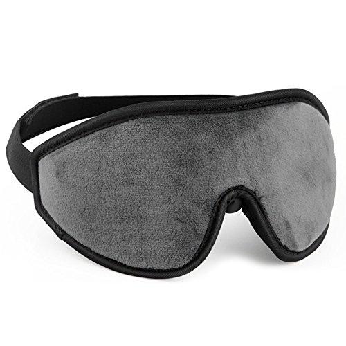 verstellbar Eye Mask Schlaf Maske–Aktualisierung 3D Konturierte Sleeping Masken für Herren und Damen–100% Eye Shades Augenbinde Eye Cover mit innnovativen Kuppel Form Verdunkelungsset und freizügigkeit der Augen