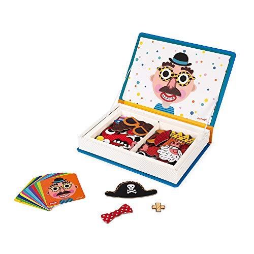 Imagen de Libro Magnético Infantil Janod por menos de 20 euros.