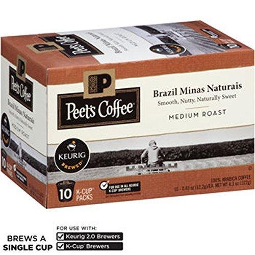 Peet's Coffee Brazil Minas Naturais 120 K-Cups by Peet's