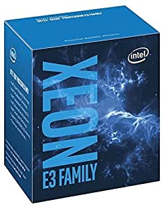 Intel 1151 Xeon E3-1245v5 Box Processore, 3,5GHz, Nero