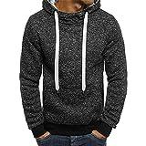 Sweatshirt Herren Hoodies Harajuku Solid Hoodie Hip Streetwear Pullover Herren Freizeit Trainingsanzug-Farbe 3_XXL