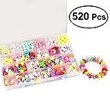 ROSENICE 520pcs Kinder DIY Perlen Set Schmuckherstellung Spielzeug Handwerk Bastelspiel