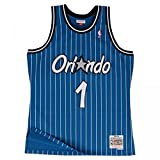 Mitchell & Ness Anfernee Hardaway #1 Orlando Magic 1994-95 Swingman NBA Trikot Blau, XXL