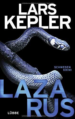 Buchseite und Rezensionen zu 'Lazarus' von Lars Kepler