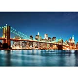 Vlies Fototapete 400x280 cm - Top ! PREMIUM PLUS Foto Tapete ! Wandbilder XXL Wandbild Bild Fototapeten Tapeten Wandtapete Wanddeko Wand New York City USA Big Apple - no. 179