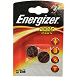 All Trade Direct 6 X Energizer Cr2025 3V Lthium Coin Cell Battery Dl2025 Car Keys Van Key Fob