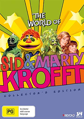 61e9fde497e3 The World of Sid and Marty Krofft - Complete Series - 14-DVD Box Set