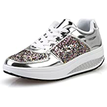 Zapatillas Running de Estudiante Sneakers Fitness,BBestseller Zapatos para Correr En Montaña Asfalto Aire Libre