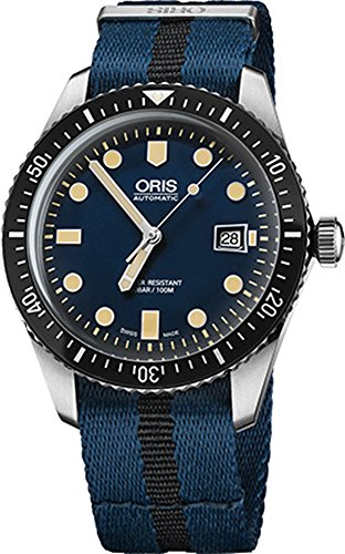 Preisvergleich Produktbild Oris Taucher 6573377204055fs-blue