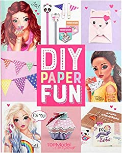 Top Model TOPModel DIY Paper Fun Book (008575), Multicolor (DEPESCHE 1)