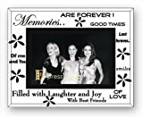 Sixtree Moments Memories Glass and Mirror 6 x 4 Photo Frame