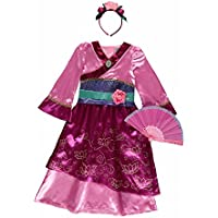 New George Disney Princess Mulan Fancy Dress Outfit Book Day Costume [7-8] …