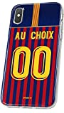 MYCASEFC Coque Barcelone Personnalisable Foot PERSONNALISÉE (iPhone 6/6S)
