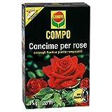 Compo 1275112005Engrais pour Roses avec Guano, 1kg, Marron