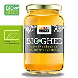 BIO-GHEE - DE-ÖKO-001 - Butterschmalz - ayurvedisches GHEE 420 g hergestellt aus biologischer Butter