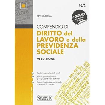 Compendio Di Diritto Del Lavoro E Della Previdenza Sociale