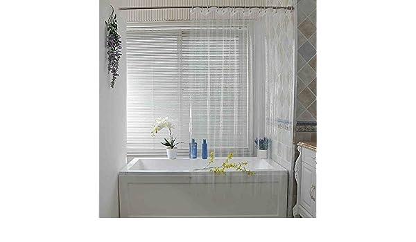 Tende Da Doccia Personalizzate : Bsnowf tende da doccia tende del bagno spessore trasparente