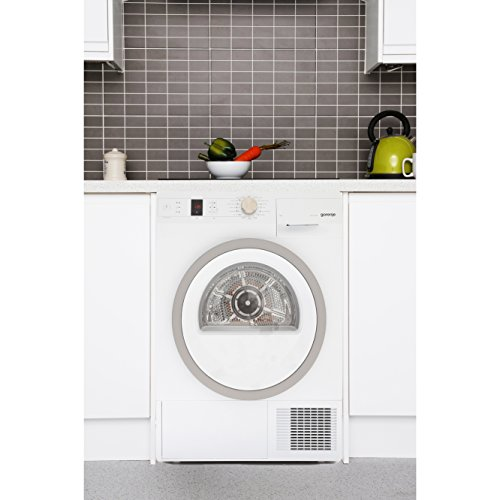 Gorenje D95F65NUK White 9kg Heat Pump Condenser Tumble Dryer