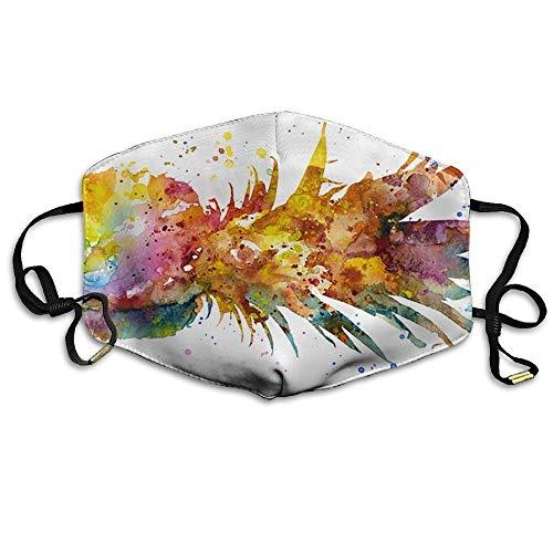 Masken, Masken für Erwachsene, Face Mask Reusable, Warm Windproof Mouth Mask, Adult Colorful Pineapple Art Fruit Mouth Face Masks Women Amusing Motorcycle Anti Dust Face Mouth Mask-Reusable Mens Adult-jason Maske