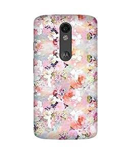 Multicolour Flowers Motorola Moto X Force Case