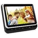"Pumpkin 10.1"" Car Headrest DVD Player for Kids with Ultra Thin TFT LCD"