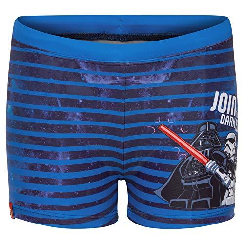 Lego Wear Jungen Lego Boy Star Wars CM-50206-BADEHOSE Badehose, Blau (Blue 563), Herstellergröße: 110 - Für Star Wars Kids