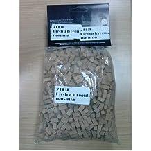 Bolsa de 1 kg de piedra anaranjada para construcción maquetas miniatura. Ref 2113K