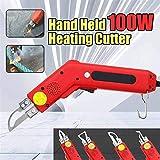 InLoveArts 4 in 1 Elektrisches Heißes Messer Cutter, 100W 220V Professionelle Stoffschneider Seilschneider für Stoff/Gummi/Seil/Kunststoff/Acryl (4 in 1)