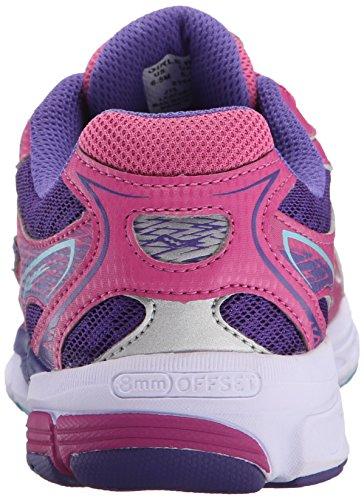 Saucony Girls Ride 8 Sneaker (Little Kid/Big Kid),Turquoise,1 W US Little Kid Pink/Purple