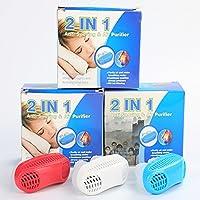 LEMONPI Upgrade Advanced 2-In-1-Anti-Schnarch- & Luftreiniger Schlaf-Atem-Aids-Nasen-Clip Schnarchen Stopper Entlasten... preisvergleich bei billige-tabletten.eu