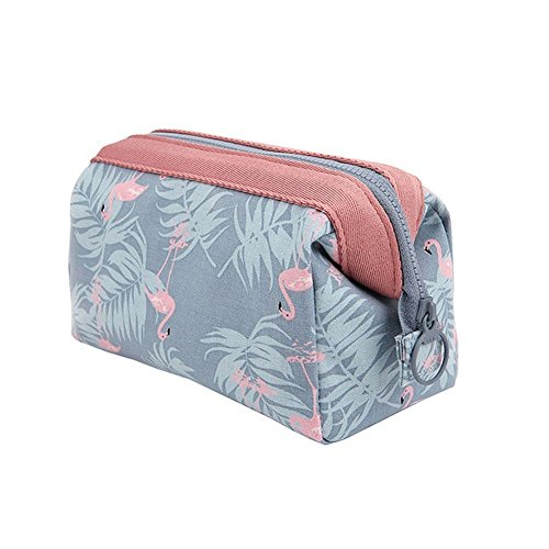 WayOuter Make-up Taschen Kosmetiktasche Flamingo Reise Kosmetiktasche Frauen Portable Make Up Pouch