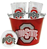 NCAA Ohio State Buckeyes Satin Etch Buck...