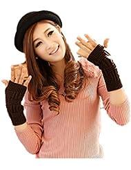 Tendencia de invierno de guantes de tejidos calientes medio (contiene 3) , 2