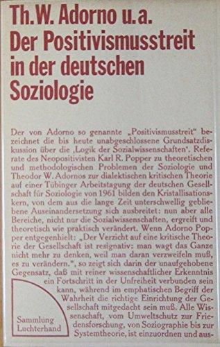 Der Positivismusstreit in der deutschen Sozilogie