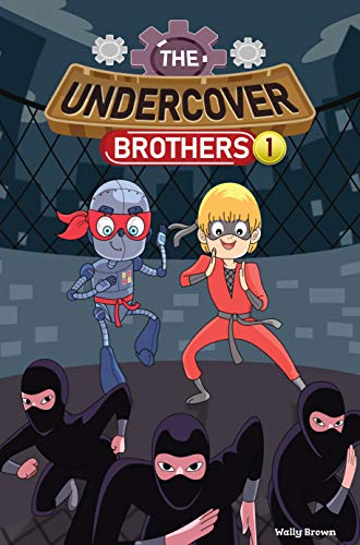 The Undercover Brothers: Ninja Invasion (Book 1) (English ...